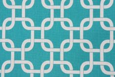 Premier Prints Gotcha Printed Cotton Drapery Fabric in True Turquoise $7.95 per yard  CODE: 2362 43.3  Price: $7.95