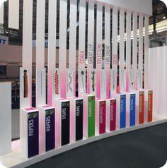 Stand salon, stand design
