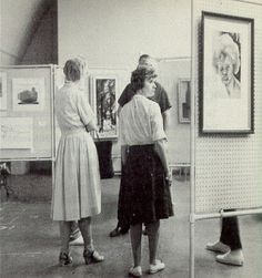 1965: art display in University Union | Ohio Northern University