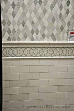 Serendipity Refined Blog: Choosing Kitchen and Bathroom Tile