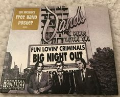 Big Night Out CD Single Fun Lovin' Criminals Free Delivery & Great Value Cds For Sale, Big Night Out, Parental Guidance, Band Posters, Free Delivery, Plays, Lyrics, Fun, Games
