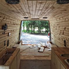 small & tiny home ideas — SPRINTER VAN | @vanderlost_ | s&thi instagram etc.