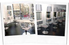 Blow Dry Bar, Salon Equipment, Barbershop, Salons, Chrome, Inspired, Chair, Business, Glass