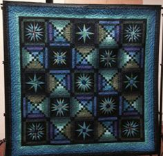 Quilters by the Sea from California has entered their quilt to be considered for our 25th Edition Cover Quilt Contest