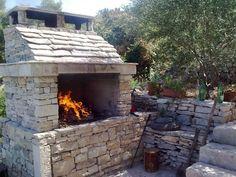 Croatian wood fired oven