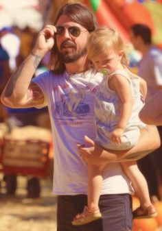 Dave Grohl and Harper♥