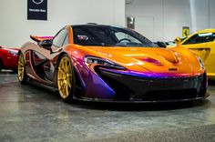 The Colour-Changing McLaren P1.