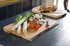 Irish Waney chopping boards from Bunbury Boards - makes a great wedding or engagement gift as it is traceable to the fallen tree from which it was created