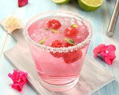 Pink cocktail au thé vert sans alcool
