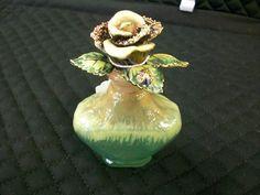 Jay Strongwater Rose Perfume bottle | eBay  $225.00