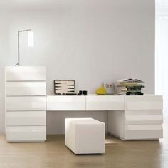 This dresser is made from high quality wood material and has beveled drawer front for an outstanding look.