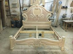 Bed Furniture, Furniture Projects, Furniture Design, Asian Furniture, Garden Furniture, Wood Bed Design, Wooden Door Design, Timber Beds, Wood Beds