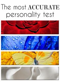 If you haven't taken the color code personality test yet, you need to try it out! Scary accurate