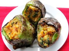 Stuffed Green Pepper.....Healthy and Delicious!