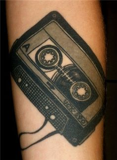 Cassette tattoo