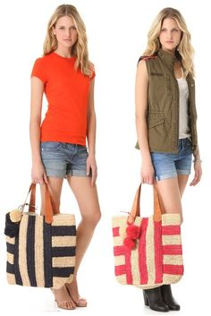 Summer Beach Bag Top Picks: Mar y Sol...Available at Luxagogo.com