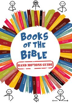 Books of the Bible Hand Motion Guide Bible Trivia, Bible Games, Bible Activities, Church Activities, Children Ministry, Childrens Ministry Deals, Youth Ministry, Sunday School, Abc School