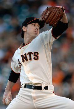 Tim Lincecum - Oakland Athletics v San Francisco Giants