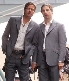 14 Sweet Shots Of Celebs With Their Stunt Doubles
