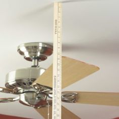 How to adjust and balance your ceiling fan blades to stop the wobble and rattle. Get your fan running smoothly again in 15 minutes. Stop the wobble and make your fan run smoothly in 15 minutes. Ceiling Fan Blades, Ceiling Fans, Ceiling Lights, Appliance Repair, Diy Home Repair, Home Repairs, Diy Home Improvement, Lifehacks, Home Projects