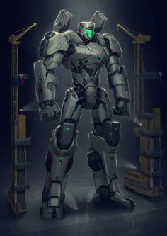 Art featuring future war - the technologies of oppression and liberation. Arte Robot, Robot Art, Robot Concept Art, Armor Concept, Superhero Design, Robot Design, Robot Militar, Pacific Rim Jaeger, Cyberpunk