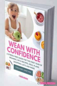 """The Simplest Starting Solids e-Book """"Wean With Confidence"""". #startingsolids #ebook #weaning #babyfood #babyfoodideas #babyrecipeideas Weaning Plan, Baby Led Weaning, Baby Recipes, Whole Food Recipes, 8 Month Old Baby Food, Baby Meal Plan, Baby Breakfast, Baby Feeding Schedule, Mash Recipe"""