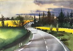 Country Roads, Paintings, Paint, Painting Art, Painting, Painted Canvas, Portrait, Resim, Drawings