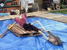 Deciding early what it is that you are likely to dress up as for Halloween is the secret to putting together a great Halloween costume. The Halloween is a great chance to acquire lots of fun with our family and… Continue Reading → Pirate Halloween Decorations, Pirate Halloween Party, Pirate Decor, Great Halloween Costumes, Pirate Theme, Halloween Skeletons, Outdoor Halloween, Halloween Projects, Spooky Halloween
