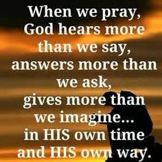 One answer from God can change everything.