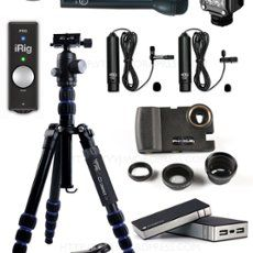 Contents of my Mojo kit. Part of by Glenbmulcahy Ios, Digital Audio, Journalism, Videography, Digital Photography, Technology, Recording Studio, Contents, Bathroom Ideas