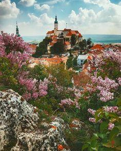 Instagram Mikulov Castle  Czech Republic