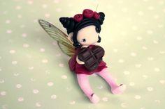 Fairy Figurine por TheDollAndThePea en Etsy