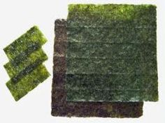 I love Azami brand roasted nori seaweed. I purchase it in snack pack size, yummy plus healthy.