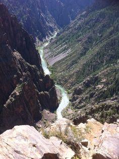Black canyon of the Gunnison, USA