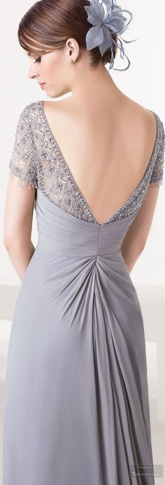 50 shades of light grey fashion / Aire Dress Luxury, Gala Dresses, Glamour, Mothers Dresses, Look Fashion, Grey Fashion, Mode Style, Special Occasion Dresses, Elegant Dresses