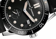 ByHarlan Chapman-Green  Of all the people to do a diving watch, Ulysse Nardin was not what I'd expected when I fell out of bed this morning. I mean, they have done them before, they also do