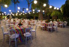 Hotel Pool deck Tropical set up