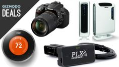 A cord cutting kit, Nikon SLRs, air purifiers, Nest thermostat and more in today's deals.