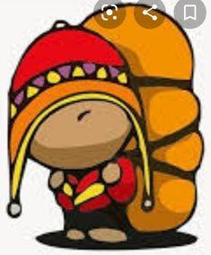 Painted Flower Pots, Mexican Folk Art, Boy Scouts, Decoupage, Illustration, Flowers, Cute, Crafts, American Art