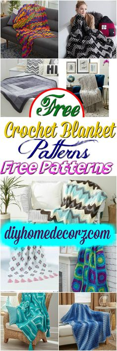Free Crochet Blanket Patterns Free Crochet Blanket Patterns Free Patterns