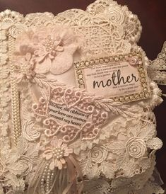 lace book page