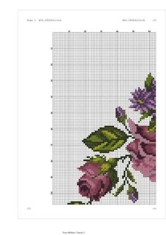 Cross Stitch Rose, Prayer Rug, Purple Roses, Blackwork, Canvas, Charts, Patterns, Pink Tablecloth, Butterfly Cross Stitch