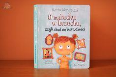 O maluchu w brzuchu, czyli skąd się biorą dzieci | Bajkochłonka Malm, Cover, Books, Libros, Book, Book Illustrations, Libri