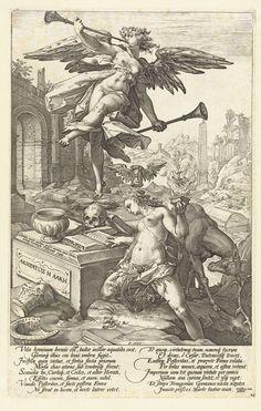 Faam en Historie, Hendrick Goltzius, 1586