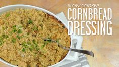 How To Make Slow-Cooker Cornbread Dressing | Southern Living