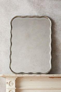 """$300 - anthropologie - 31.25""""H x 22""""W - W/C - Slide View: 1: Coquille Mirror"""