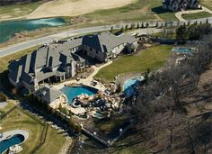 Aerial Drone View Bernie Bloemer Custom Homes Nashville, TN Big Backyard, Aerial Drone, Home Builders, Custom Homes, Nashville, Mount Rushmore, Mountains, Luxury, Nature