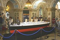 Titanic Model, Belfast City Hall, Belfast, Northern Ireland