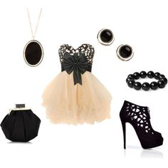 Homecoming Ideas, created by fashionchick16 on Polyvore