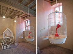 The Creatures are Coming Bird Cages, Creatures, Home Appliances, Milan Design, House Appliances, Appliances, Birdcages, Bird Cage